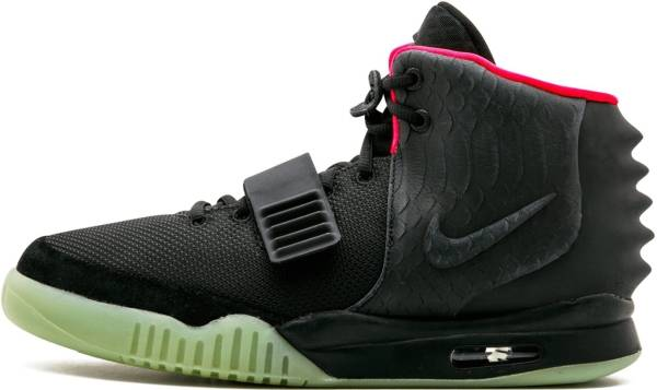 big sale 6388e 9431e Nike Air Yeezy 2 NRG Black, Black-solar Red