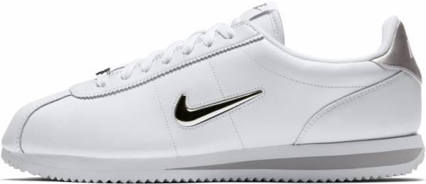 Nike Cortez Jewel - White White Mtlc Silver 101