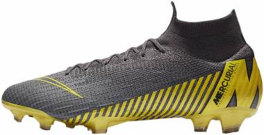 Nike Mercurial Superfly VI Pro Firm Ground - Grey (AH7368070)