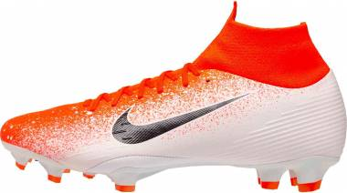 Nike Mercurial Superfly VI Pro Firm Ground - Hyper Crimson, White, Black (AH7368801)