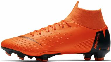 Nike Mercurial Superfly VI Pro Firm Ground Orange Men