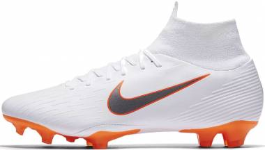 Nike Mercurial Superfly VI Pro Firm Ground - White (AH7368107)