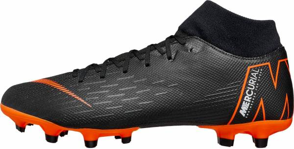 45bdcf855 Nike Mercurial Superfly VI Academy Multi-ground Black Total Orange White