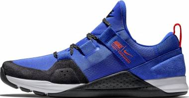 check out 69737 b2188 Nike Tech Trainer Racer Blue Black-Total Crimson-White Men
