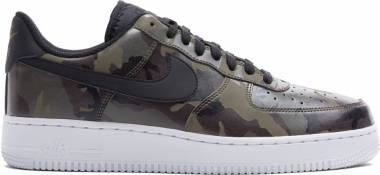 Nike Air Force 1 07 Low Camo - Medium Olive/Black