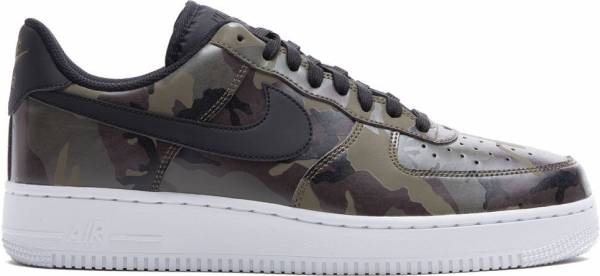 the best attitude aad33 3ce5a Nike Air Force 1 07 Low Camo Medium Olive Baroque Brown Sequoia Black
