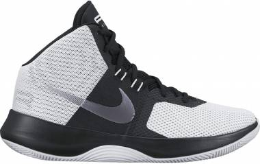 Nike Air Precision - Weiß (White/Metallic Cool Grey/Black/Pure Platinum) (898455102)