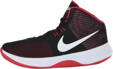 Nike Air Precision Black White University Red Men