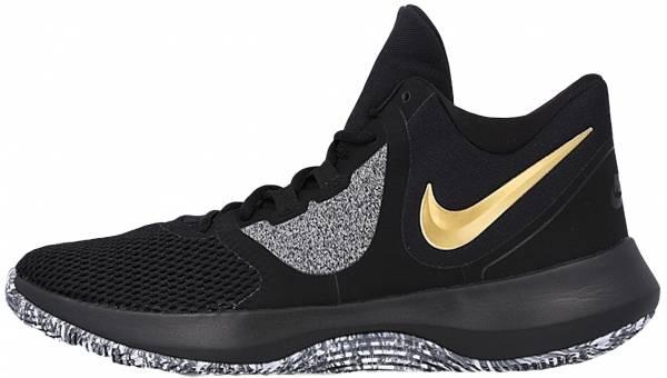 Nike Air Precision II - Black/Metallic Gold-White (AA7069090)