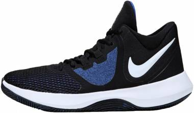 Nike Air Precision II - Black / White / Game Royal