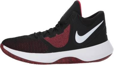 e5bb6c055deb11 Nike Air Precision II Black White-university Red Men