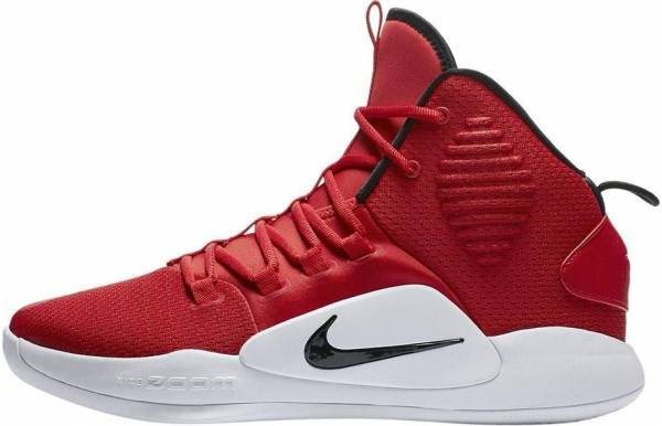 Nike Hyperdunk X - Multicolore University Red Black White 600