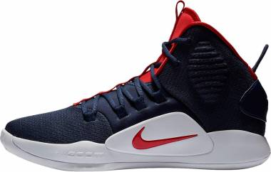 Nike Hyperdunk X - Multicolore Midnight Navy University Red White 400 (AO7893400)