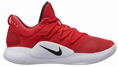 Nike Hyperdunk X Low - Multicolore University Red Black White 600
