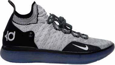 Nike KD 11 - Black/White-racer Blue