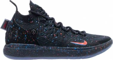 Nike KD 11 - Black / Bright Crimson (AO2604007)