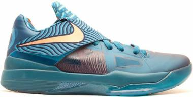 Nike KD 4 - Green Abyss, Bright Mng-crrnt Bl