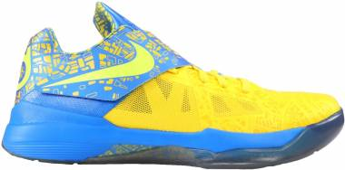 Nike KD 4 Tour Yellow, Lemon Twist-pht Bl Men