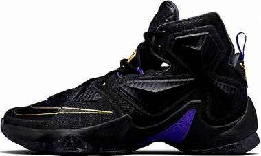 Nike Lebron 13 - Black/Black-metallic-gold-hyper Grape (807219007)