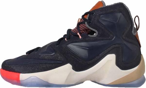 Nike Lebron 13 - Azul Multi Color Obsidian Sail (823300941)
