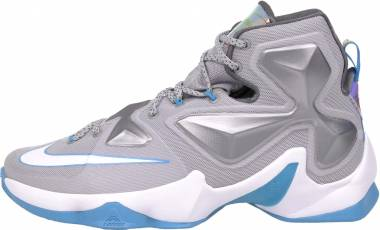 Nike Lebron 13 Wolf Grey/White-blue Lagoon-dark Grey Men