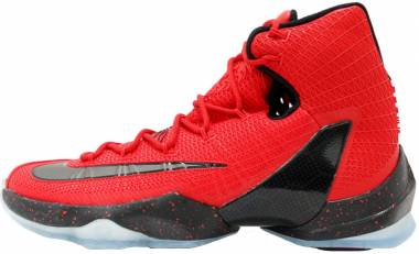 Nike LeBron 13 Elite - Rojo University Red Blk Brght Crmsn