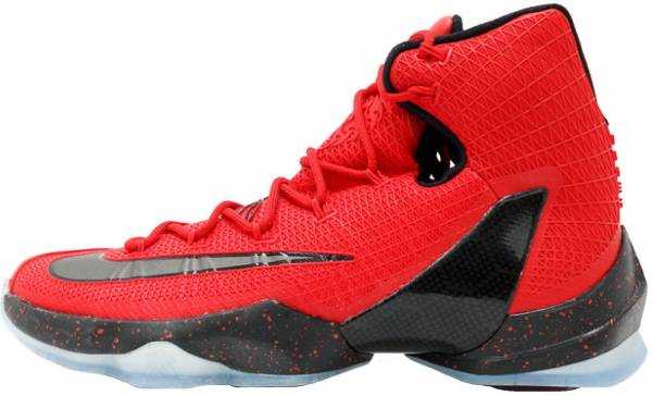 Nike LeBron 13 Elite - Red (831923606)