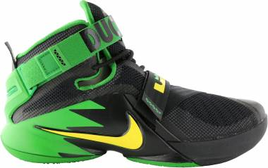 Nike LeBron Soldier 9 - BLACK/YELLOW STRIKE-APPL GREEN (749490073)