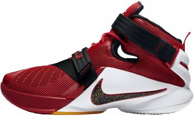 best service f9b4b a7973 Nike LeBron Soldier 9 Red Men