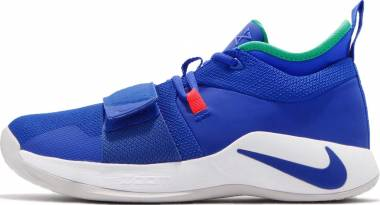 premium selection 89036 06dae Nike PG 2.5 Racer Blue White Clear Emerald Siren Red Men