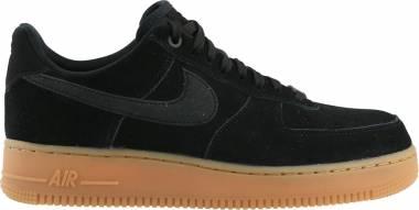 Nike Air Force 1 07 LV8 Suede - Black/Black Gum/Med Brown