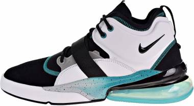 de36797ea5 Nike Air Force 270 Black/White/Wolf Grey/Blue Emerald Men