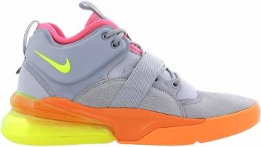 Nike Air Force 270 Atmosphere Grey/Volt/Orange Men