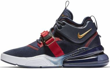 Nike Air Force 270 - Obsidian / Metallic Gold-gym Red
