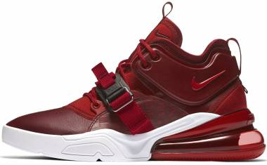 Nike Air Force 270 Team Red/Gym Red/White Men