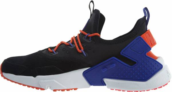 buy popular 0e817 e2662 Nike Air Huarache Drift Premium Black Rush Violet-Rush Orange