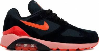 Nike Air Max 180 - Multicolore Black Team Orange University Red 001