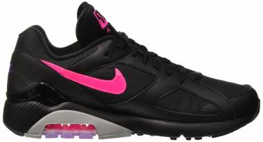 Nike Air Max 180 - Black/Pink Blast/Wolf Grey