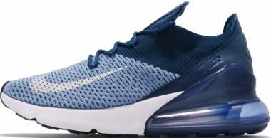 Nike Air Max 270 Flyknit - Blue (AO1023400)