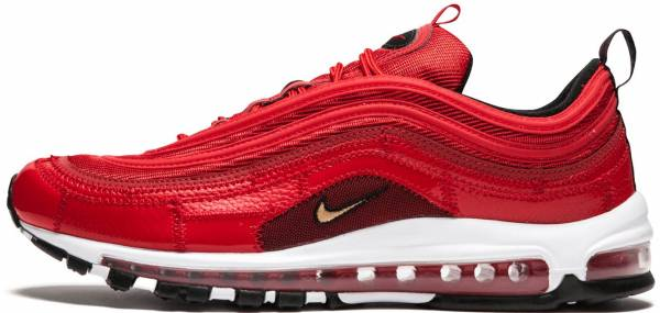 Nike Air Max 97 Mens Black Red