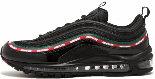 online store 683b0 6b48c Nike Air Max 97 x Undefeated Black, Speed Red-gorge Green