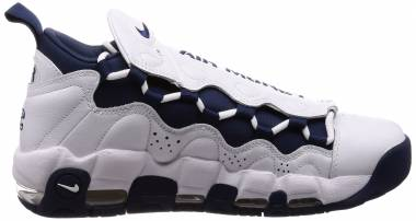 Nike Air More Money White, Midnight Navy Men