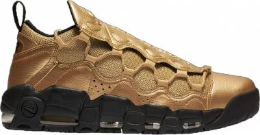 Nike Air More Money - Metallic Gold / Metallic Gold