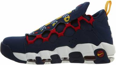 Nike Air More Money - Navy Blue Red White (AR5396400)