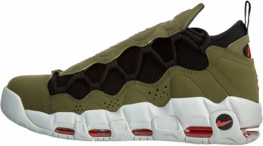 Nike Air More Money - Multicolour Medium Olive Black Habanero Red 200