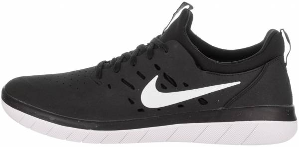 buy popular 7731a 224f8 Nike SB Nyjah Free Black White
