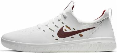 Nike SB Nyjah Free Summit White/ Team Crimson Men