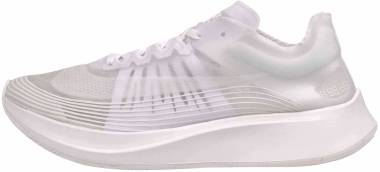 Nike Zoom Fly SP - Bianco/Bianco - Bianco Summit.