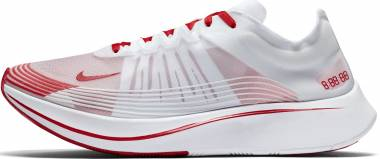 Nike Zoom Fly SP White / University Red Men