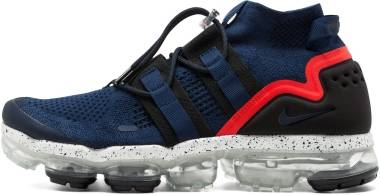 Nike Air VaporMax Flyknit Utility - College Navy Black